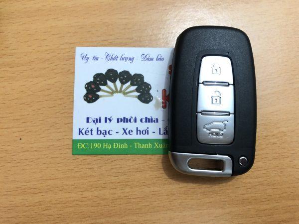 chìa khóa thông minh Kia Forte
