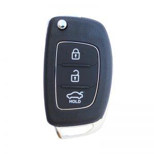 chìa khóa remote Hyundai Accent 3 nút