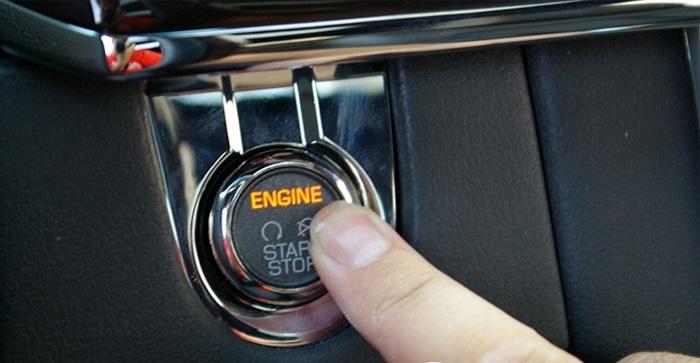 Hệ thống khóa thông minh giúp bạn khởi động xe nhanh chóng