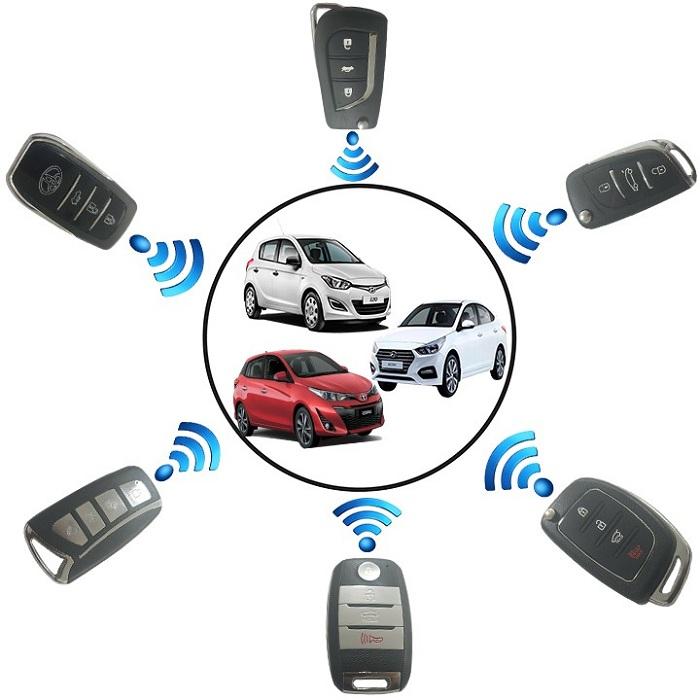 Hệ thống khóa cửa xe ô tô gồm nhiều bộ phận chi tiết khác nhau