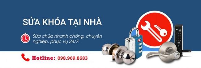 Dịch vụ sửa khóa quận Hoàng Mai chuyên nghiệp, chất lượng cao