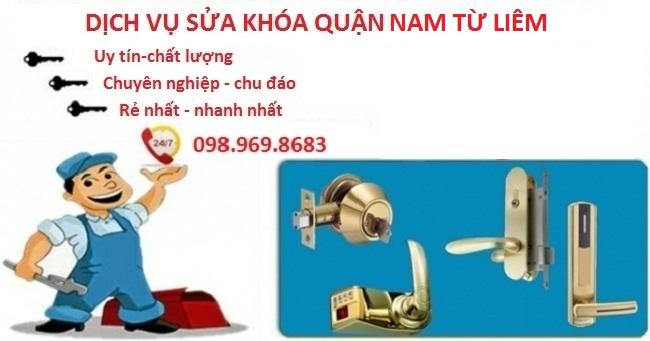 Sửa khóa quận Nam Từ Liêm là lựa chọn hàng đầu của khách hàng